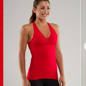 COMING SOON Lululemon coral Deep V size 4 work out